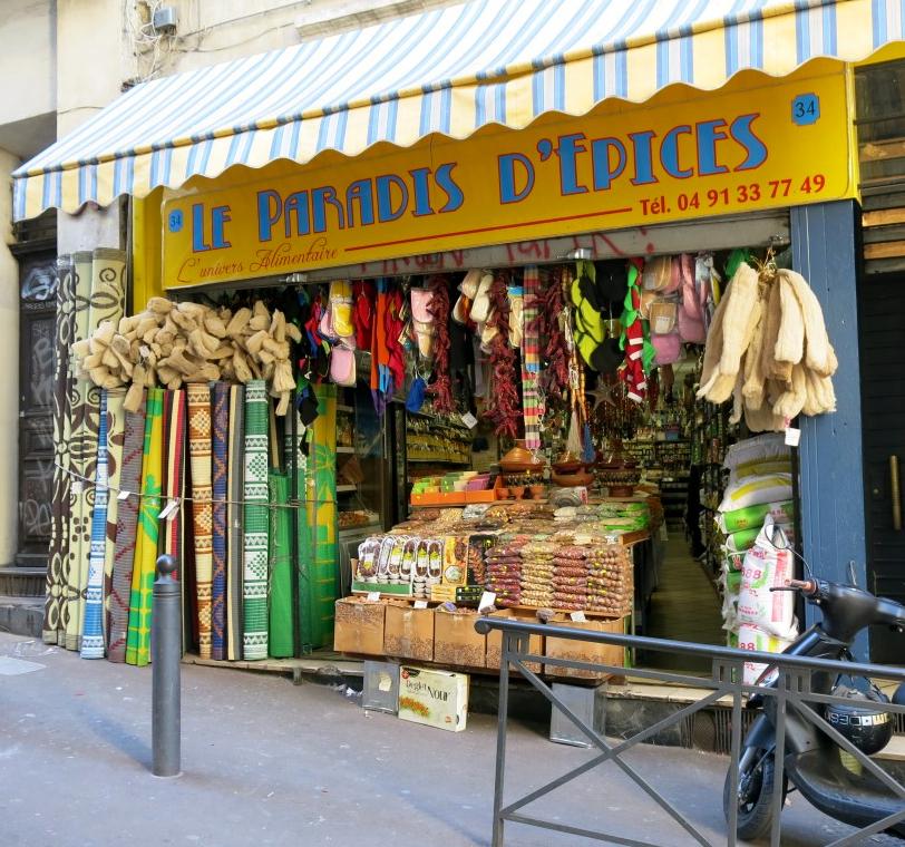 Nordafrikanischer Gewürzladen in Marseille